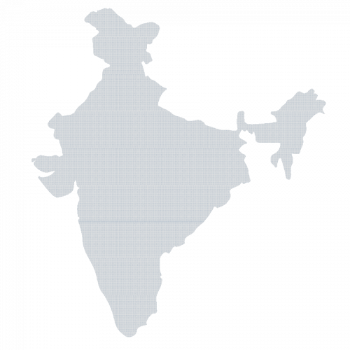 map-vector-india